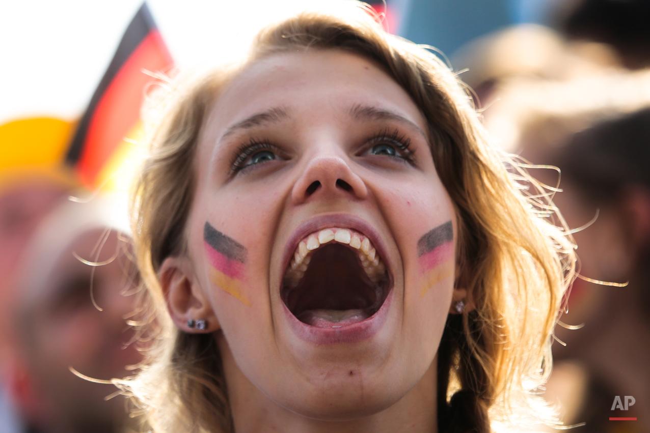 Germany Brazil Soccer WCup