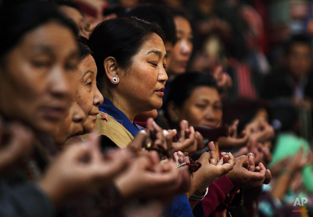APTOPIX Nepal Tibet New Year