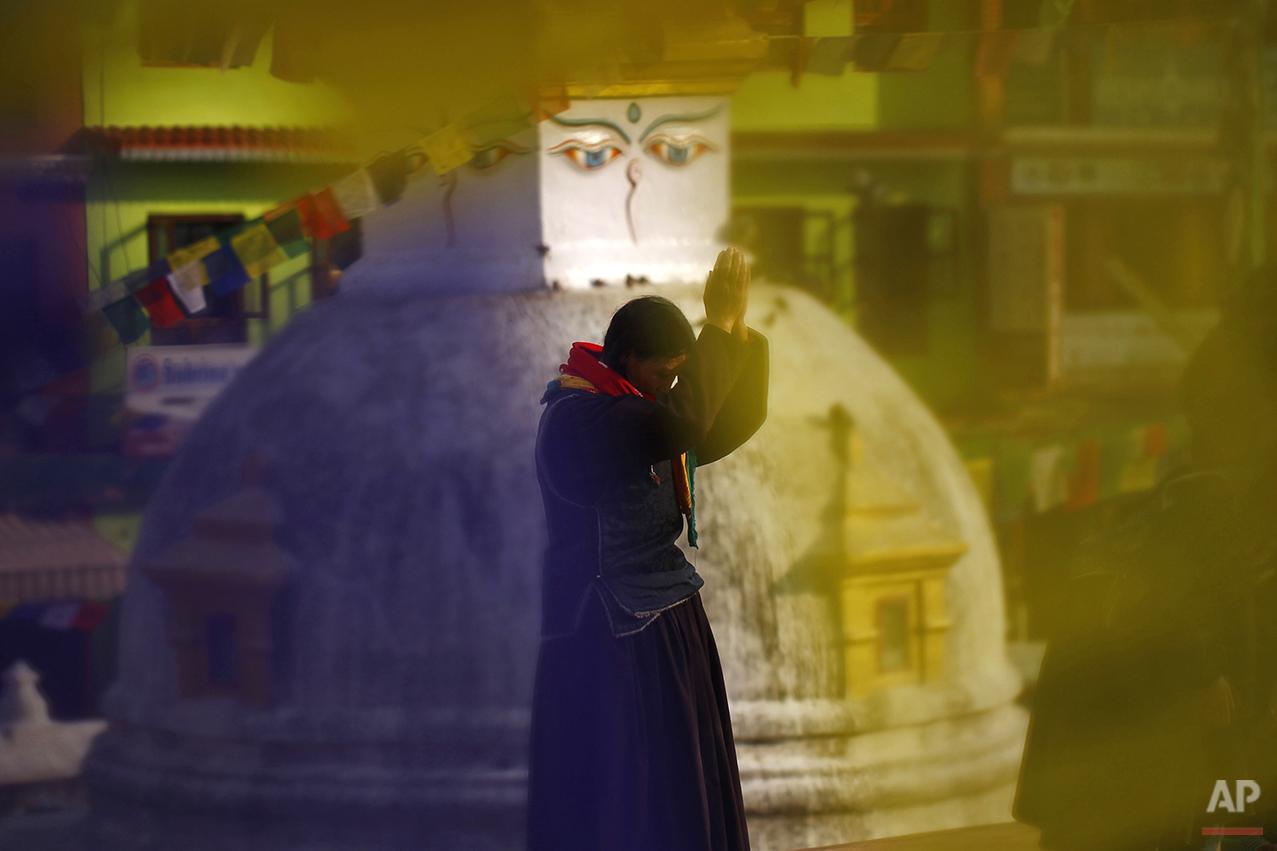 APTOPIX Nepal Daily Life