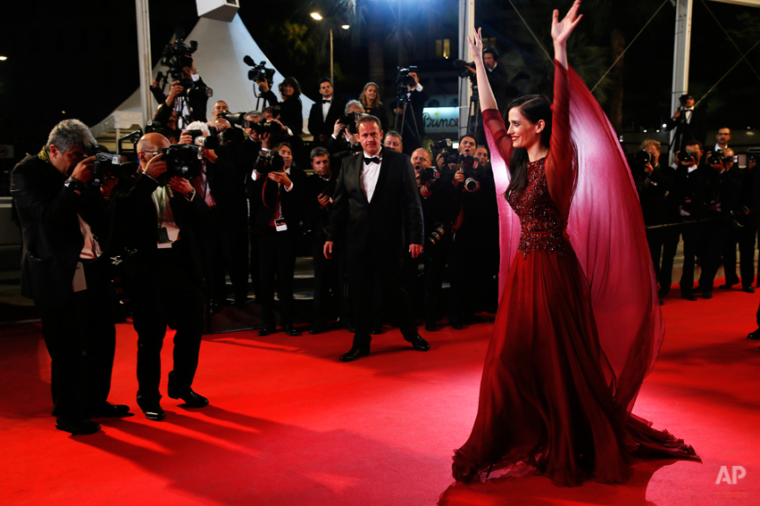 APTOPIX France Cannes The Salvation Red Carpet