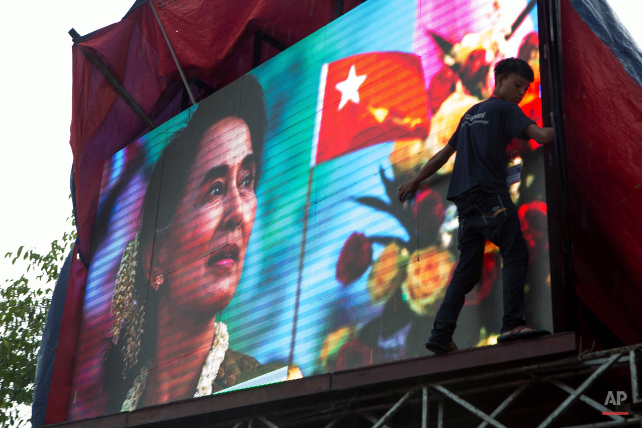 Pictures Of The Week Photo Gallery Myanmar Elections