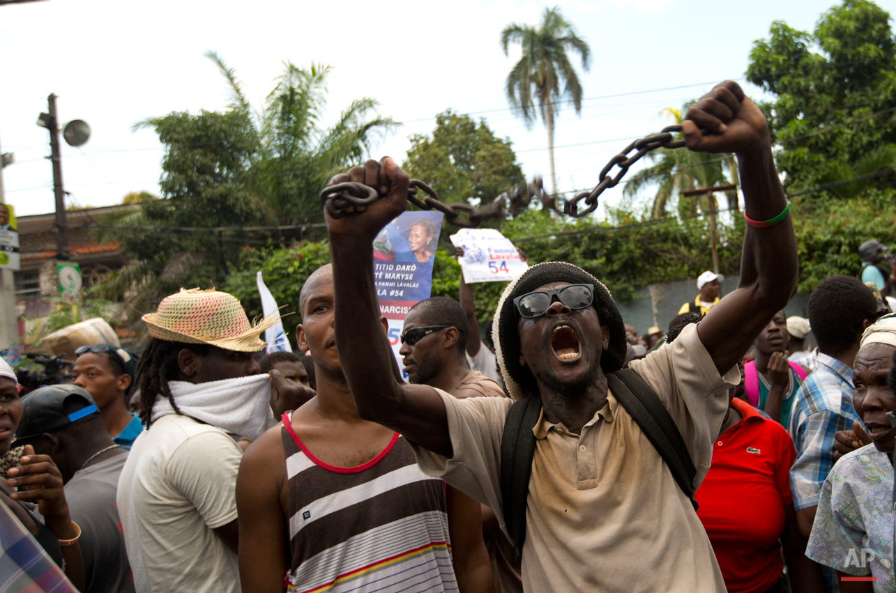 Pictures Of The Week Photo Gallery Haiti Elections