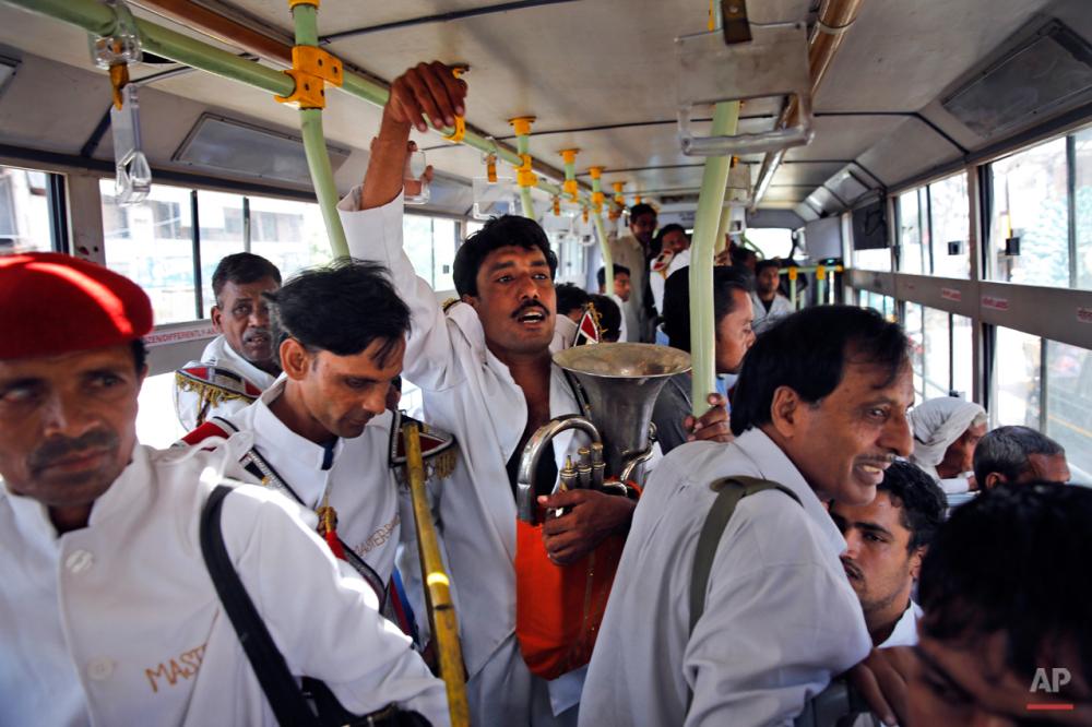APTOPIX India Disappearing Brass Bands