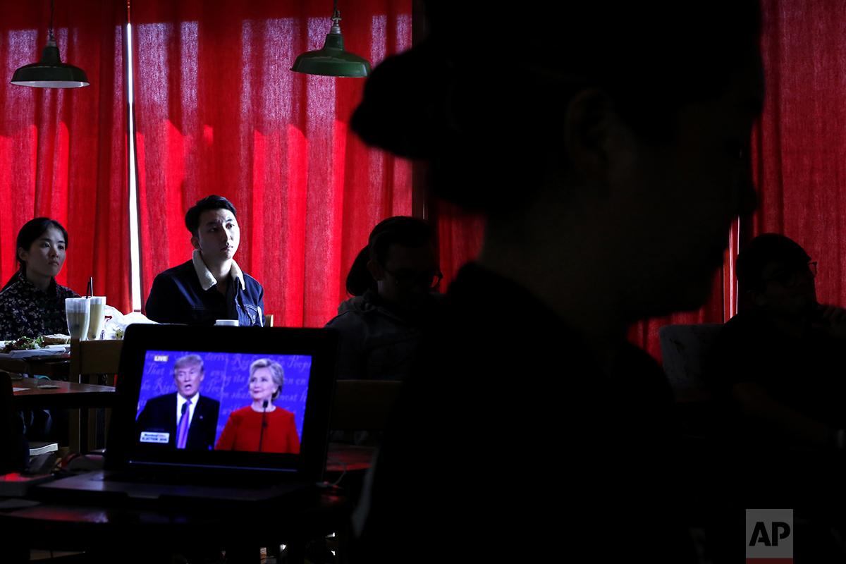 China US Campaign 2016 Debate World Reactions