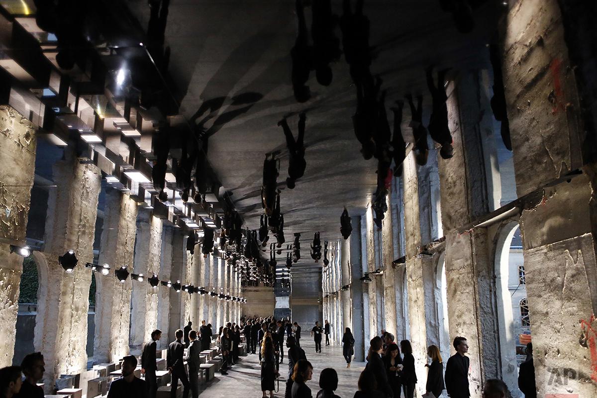 Paris Fashion Yves Saint Laurent