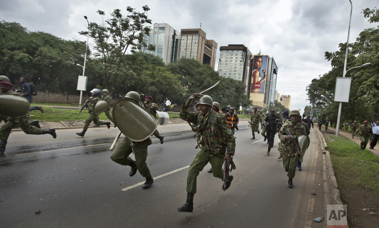 Politcal Unrest in Kenya
