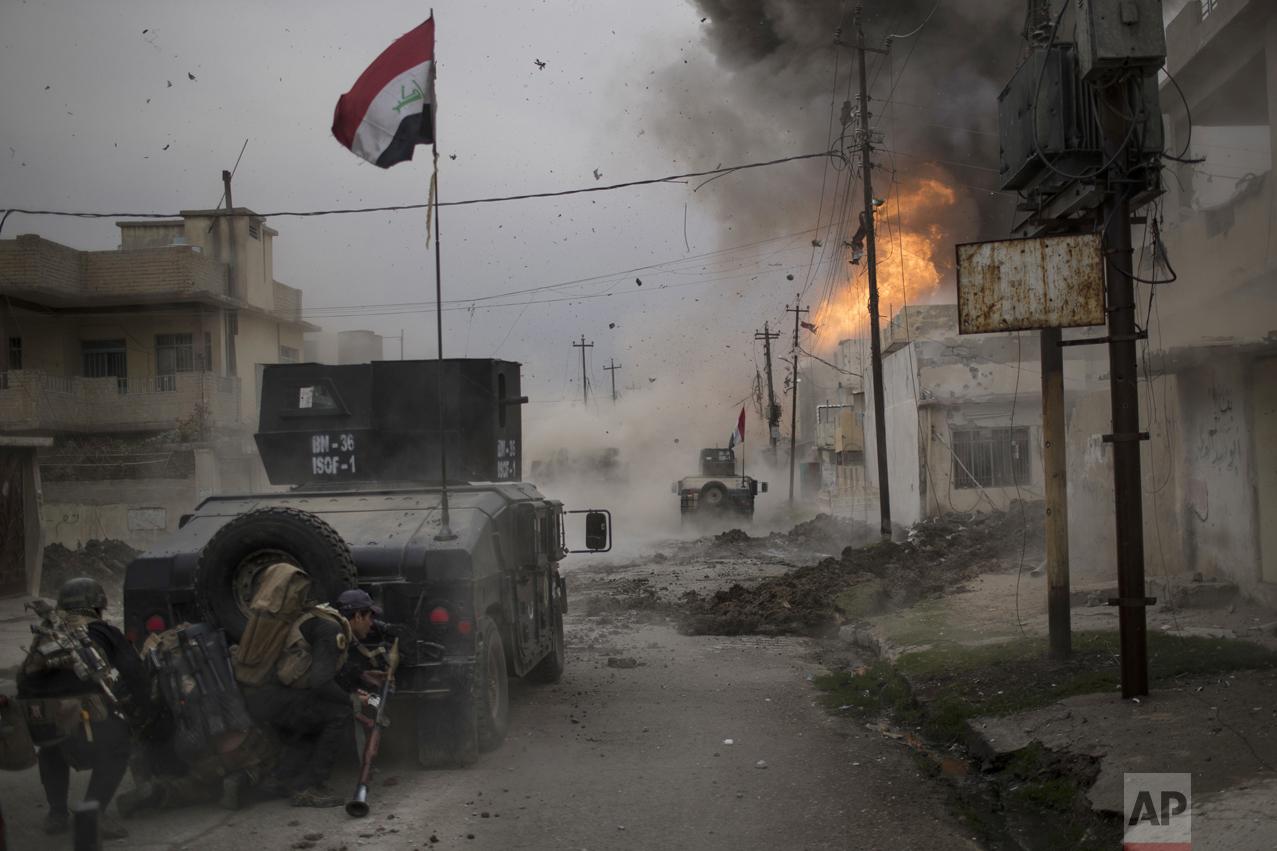 Battle in Mosul