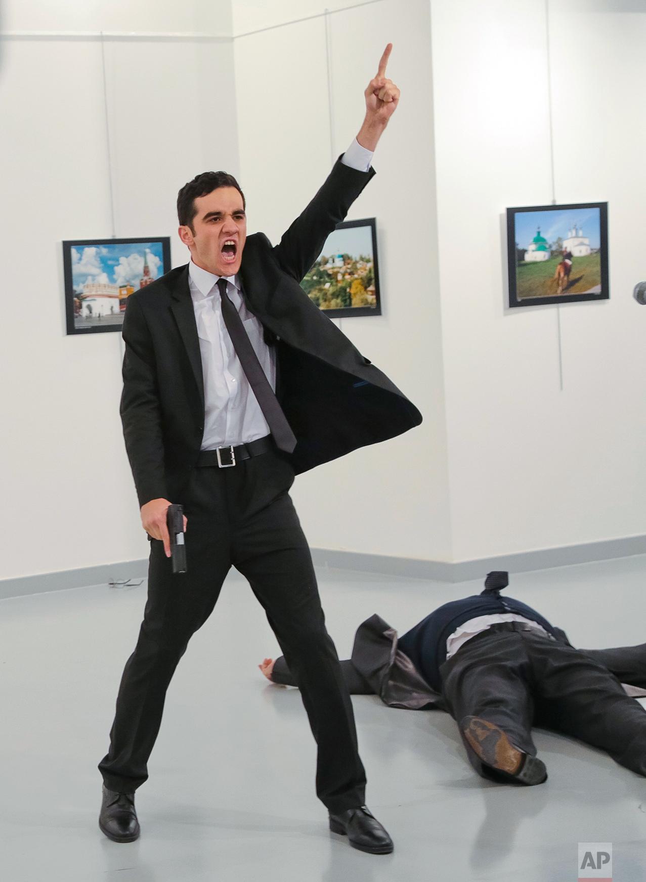 APTOPIX Turkey Russian Ambassador
