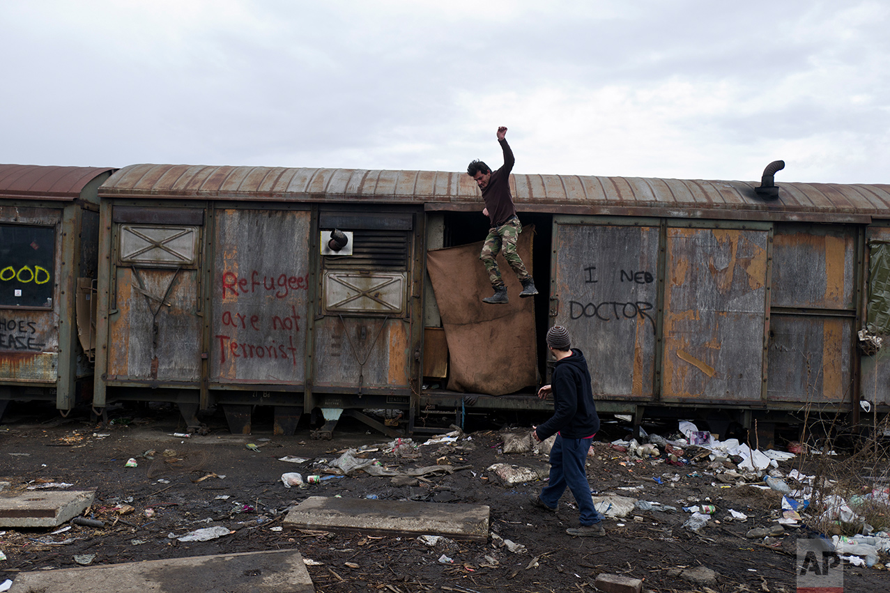 Serbia Migrants Daily Life