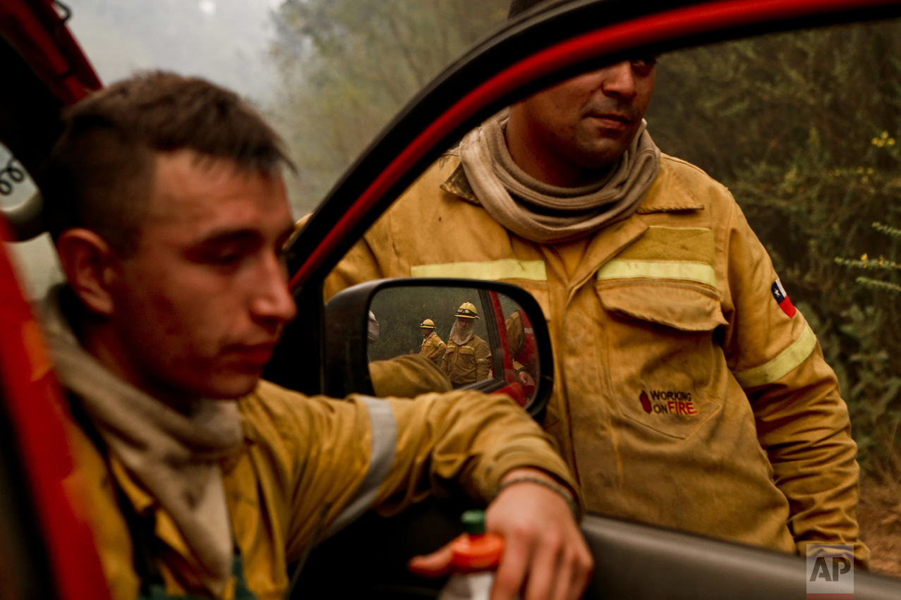 Chile Wildfires