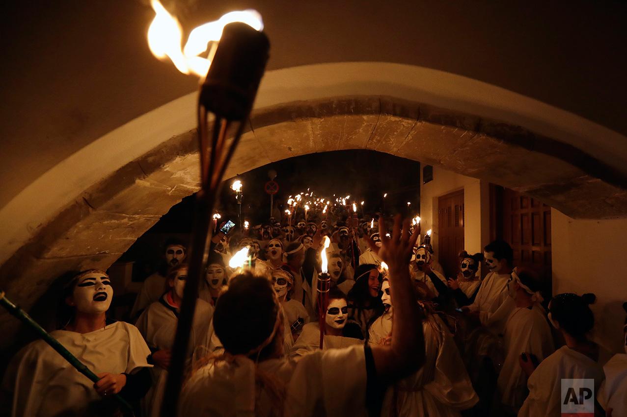 Greece Naxos Carnival