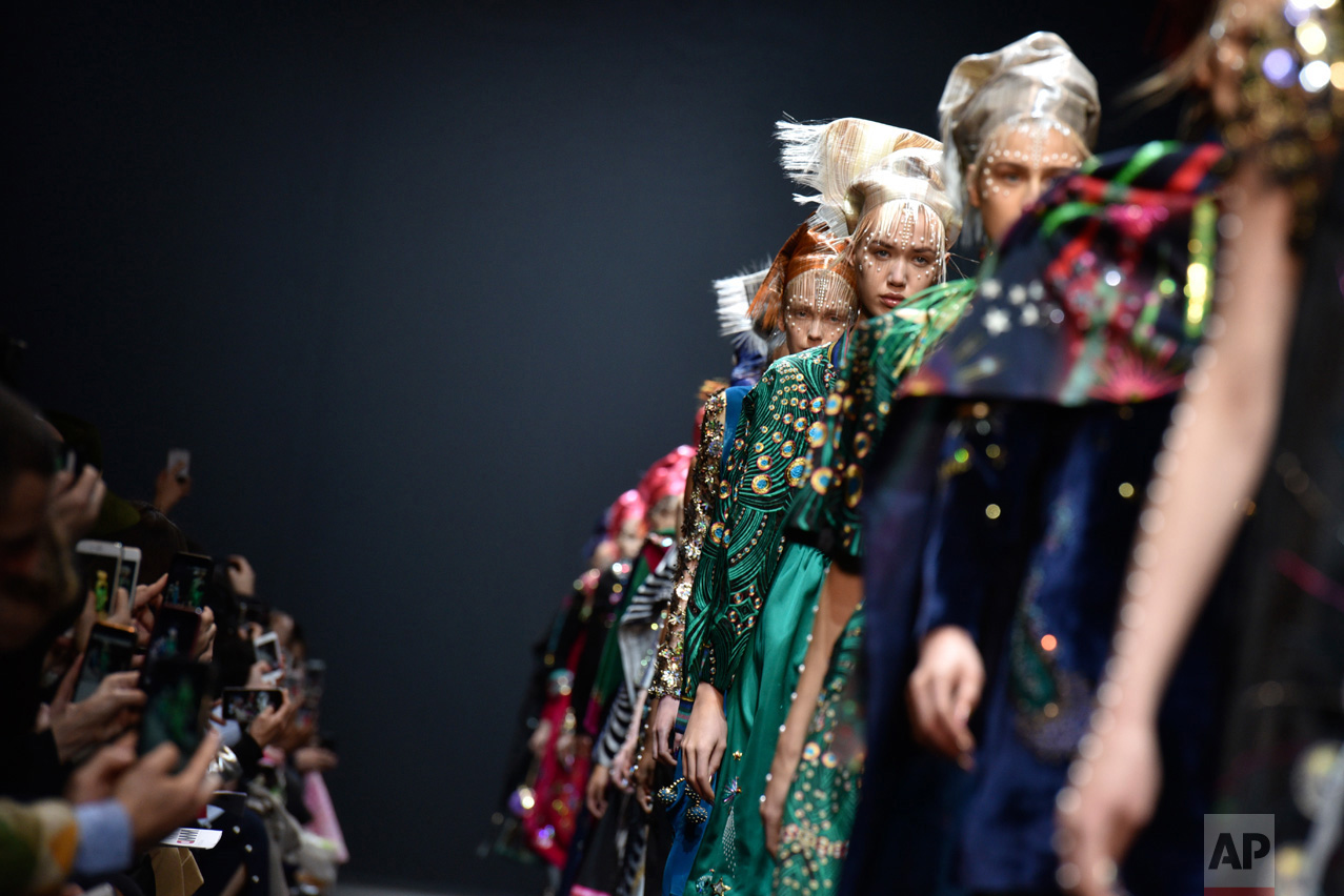 Paris Fashion Manish Arora