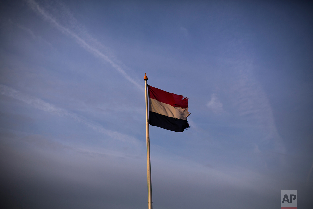 In this Friday, March 3, 2017 photo, the flag of The Netherlands flies near the beach in The Hague, The Netherlands. Ahead of a Dutch vote that will indicate whether populism in Europe is gathering strength or blowing over, divisive questions about immigration and Islam are testing the Netherlands' famed capacity for tolerance and inclusiveness. (AP Photo/Emilio Morenatti)