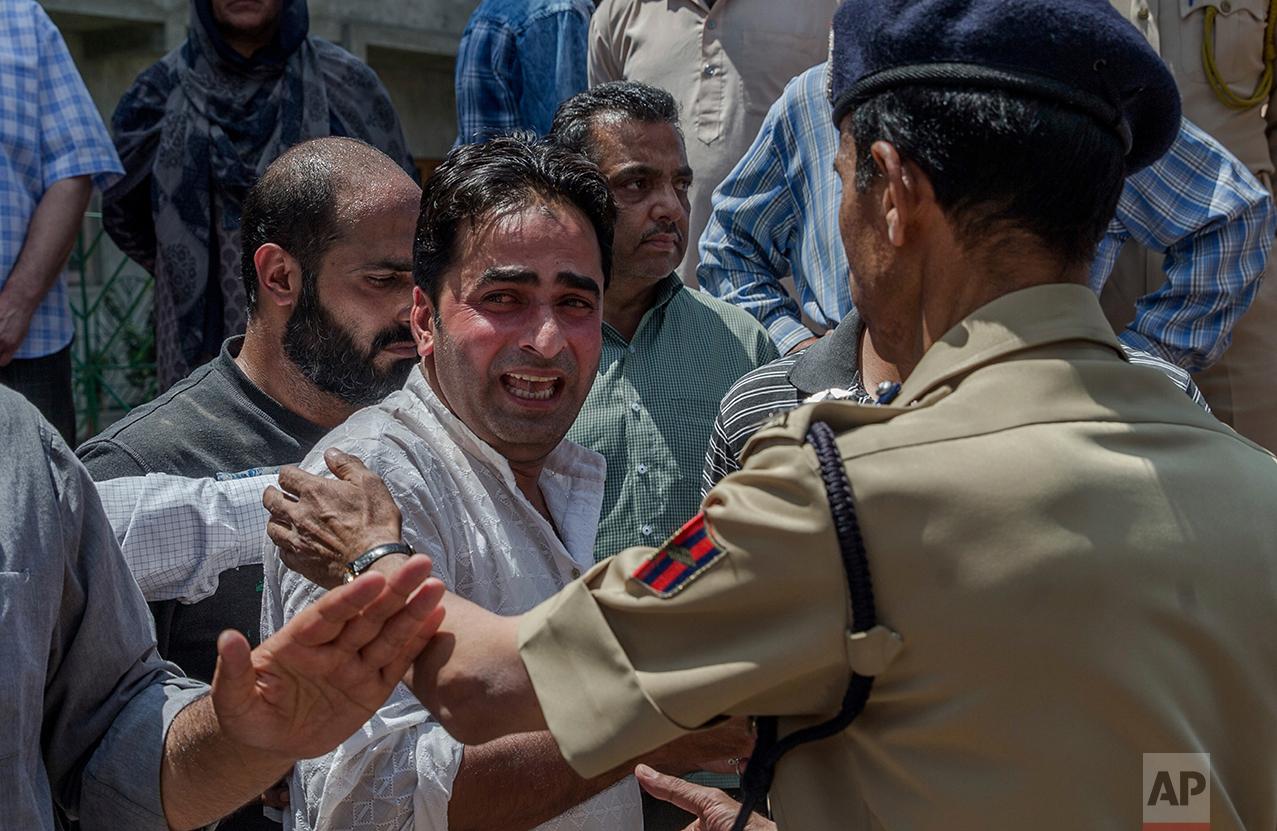 India Kashmir Voilence