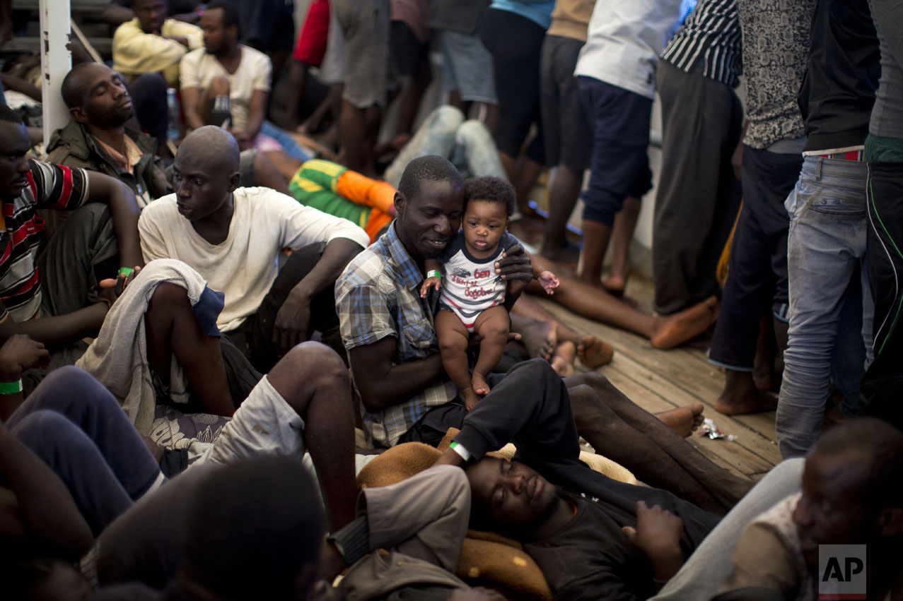 Migrants At Sea