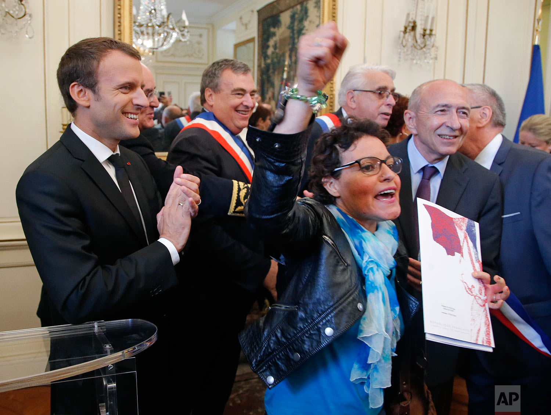 France Macron Migrants