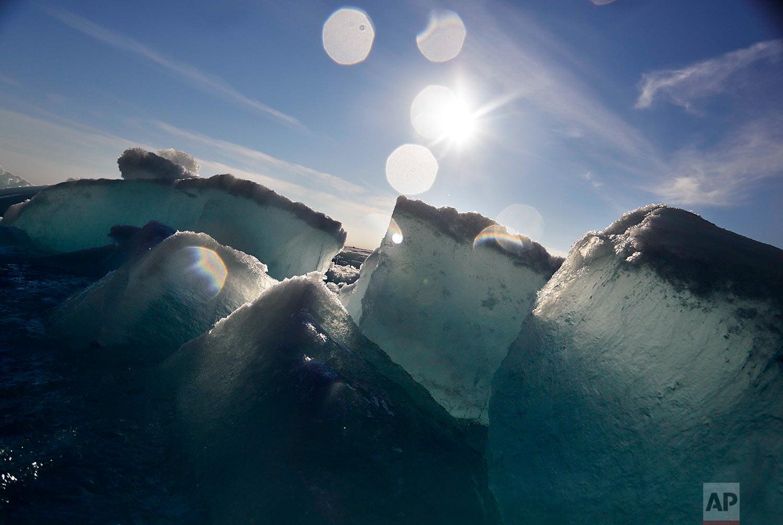 APTOPIX New Arctic Icescapes Gallery