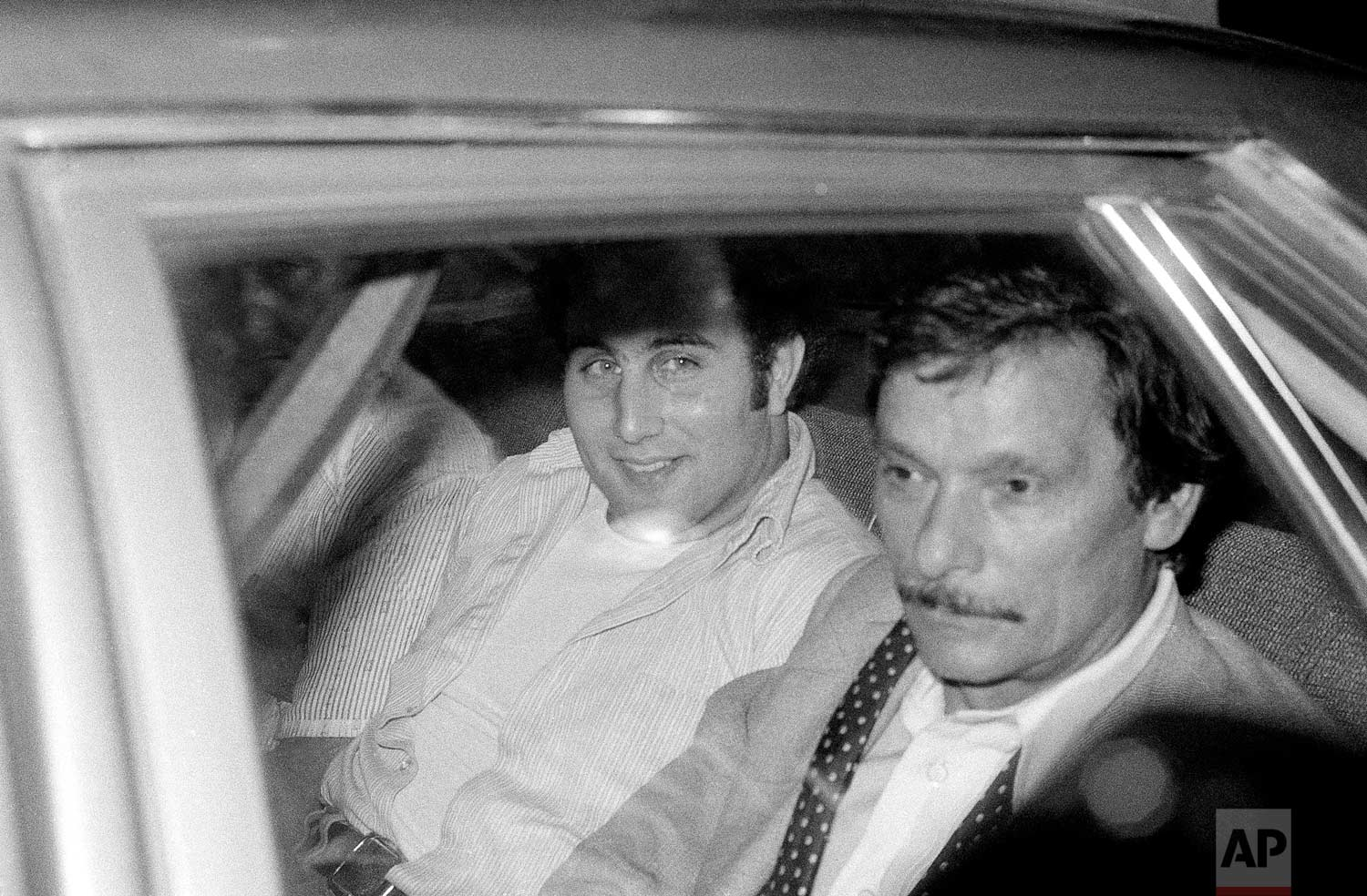 "David Berkowitz, the ""Son of Sam"" suspect,  is shown in an undated photo. (AP Photo)"