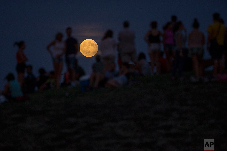 Spain Full Moon