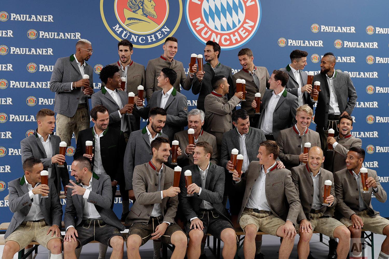Germany Oktoberfest Soccer Bayern Munich