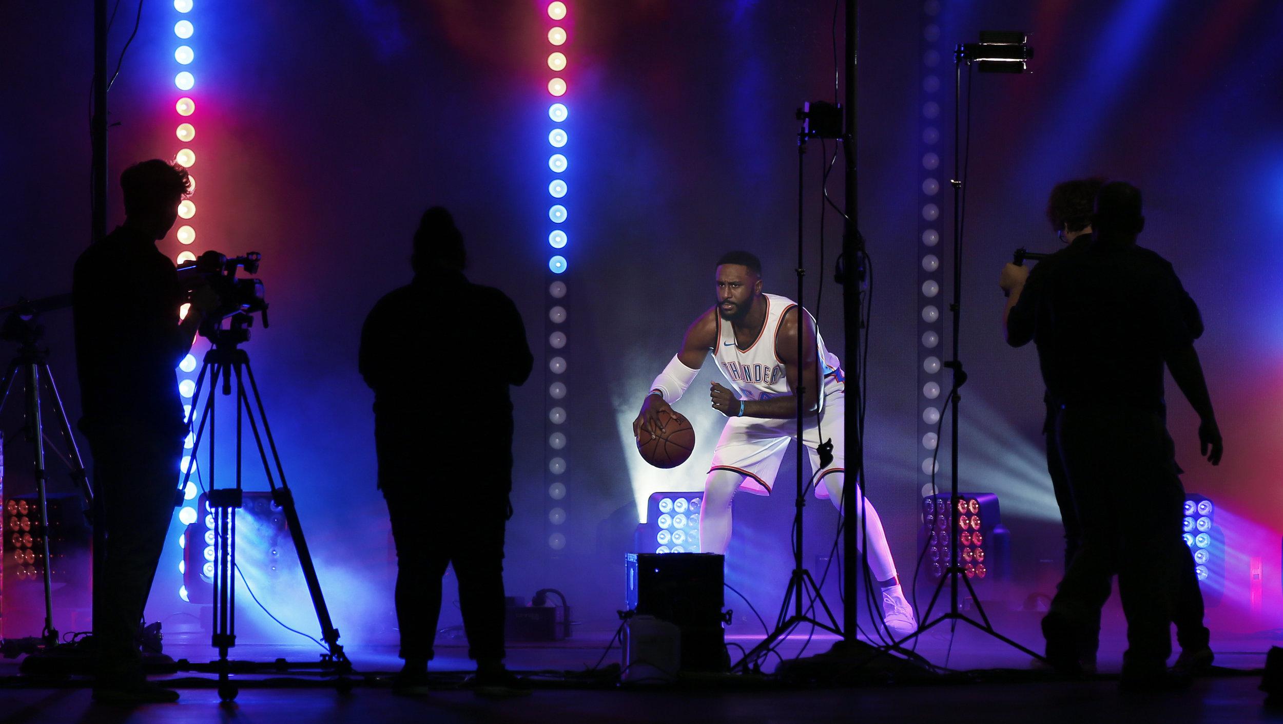 Thunder Basketball Media Day