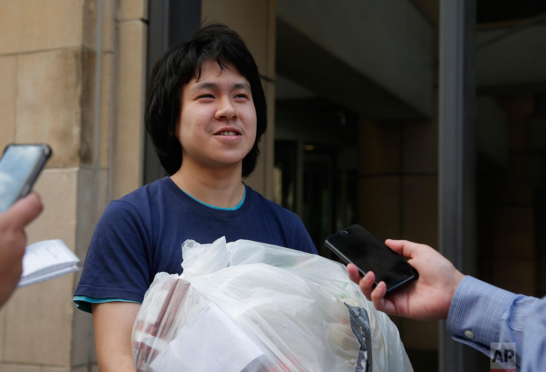 Singapore US Teen Asylum Seeker