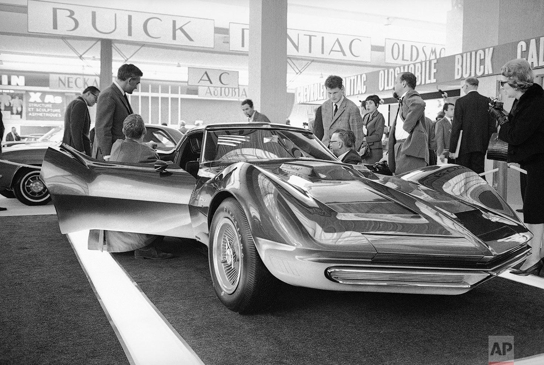Corvette in Paris   October 7, 1965