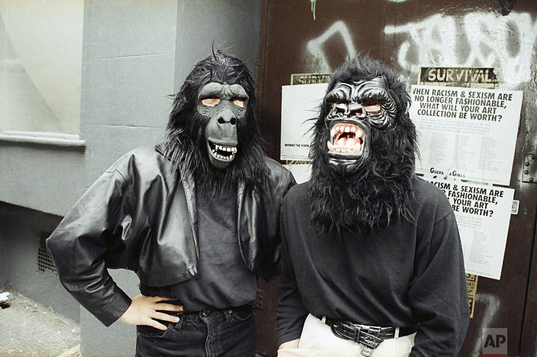 Guerrilla Girls   October 5, 1989