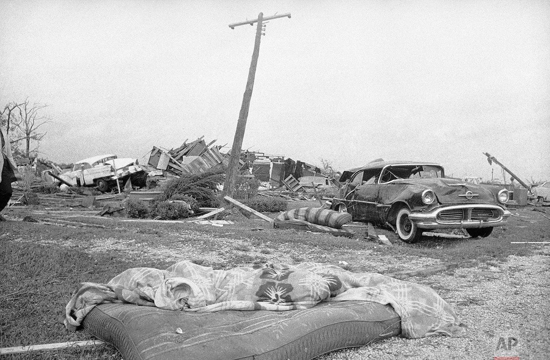 Hurricane in Larose   October 3, 1964