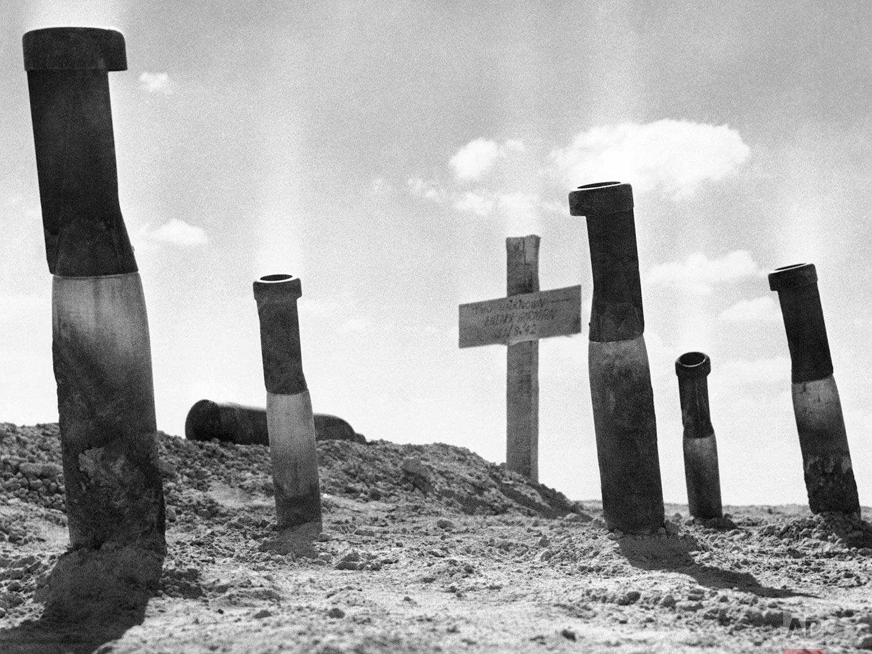 Bombs in Desert    October 3, 1942