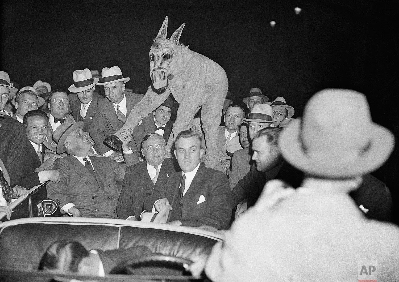 Roosevelt Mascot   October 1, 1932