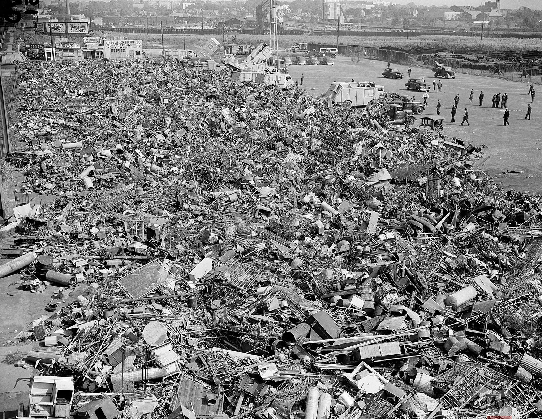 Metal Drive NYC   October 2, 1942