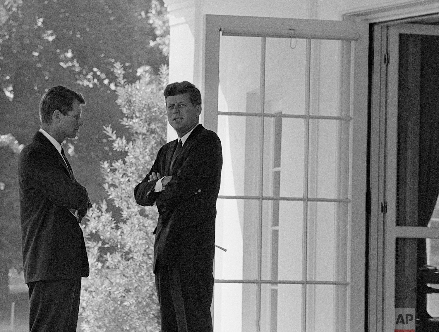 Kennedy Brothers   October 1, 1962