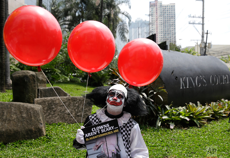 Philippines Vegetarian Protest