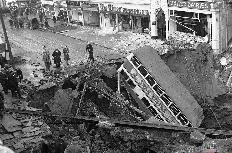 London Bomb | Oct. 15, 1940