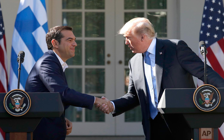Trump US Greece