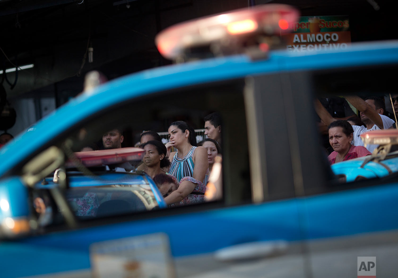 Brazil Rio Violence Protest