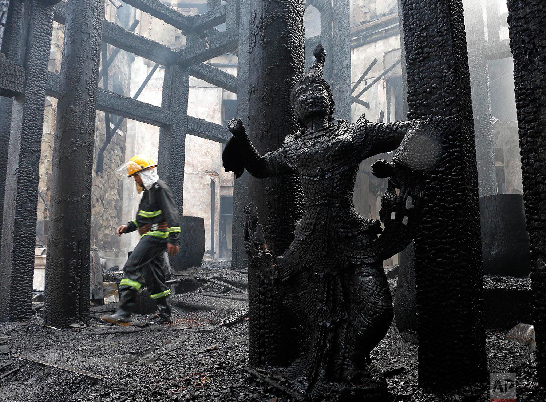 Myanmar Hotel Fire