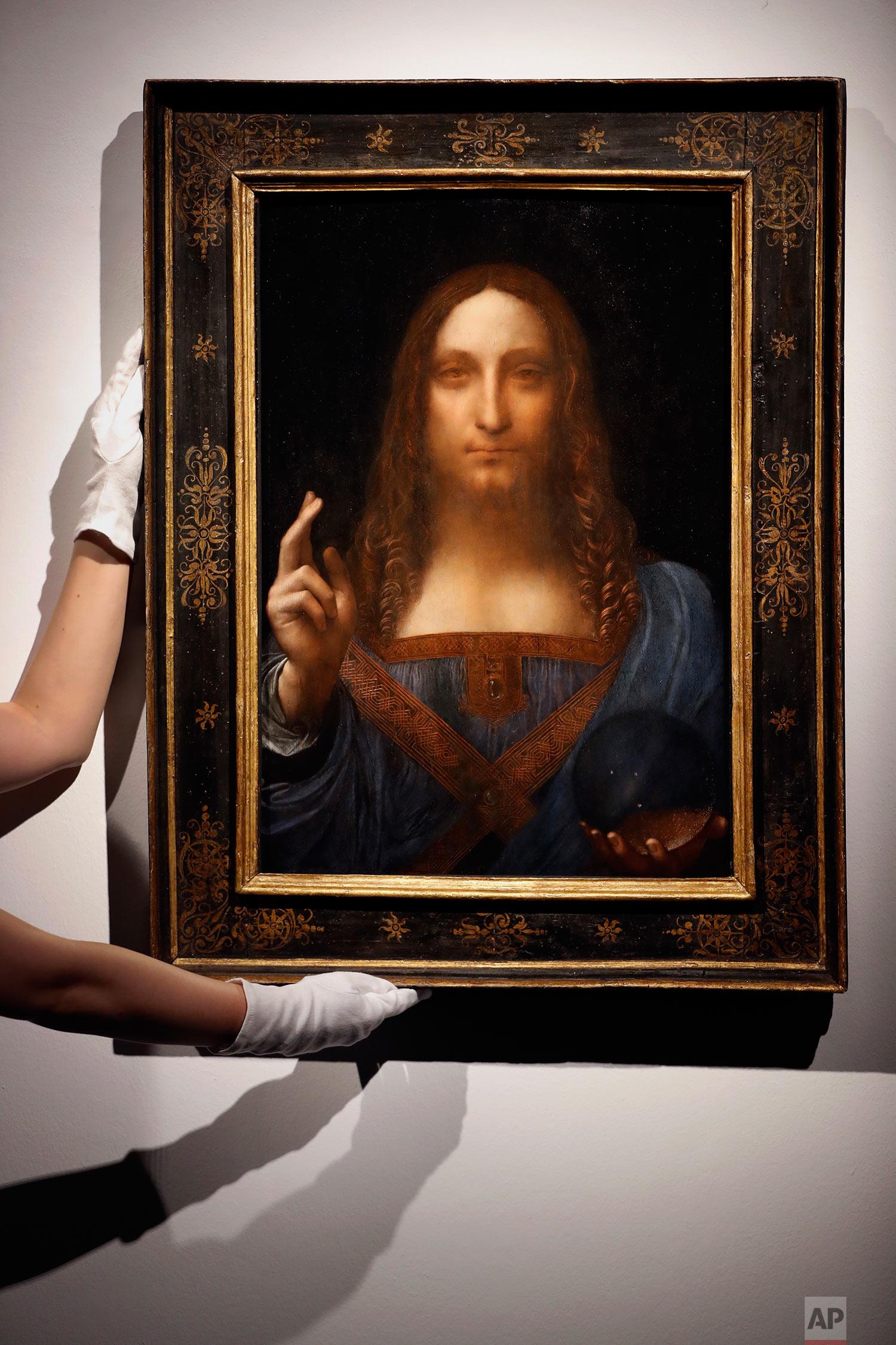 Britain Leonardo da Vinci Painting
