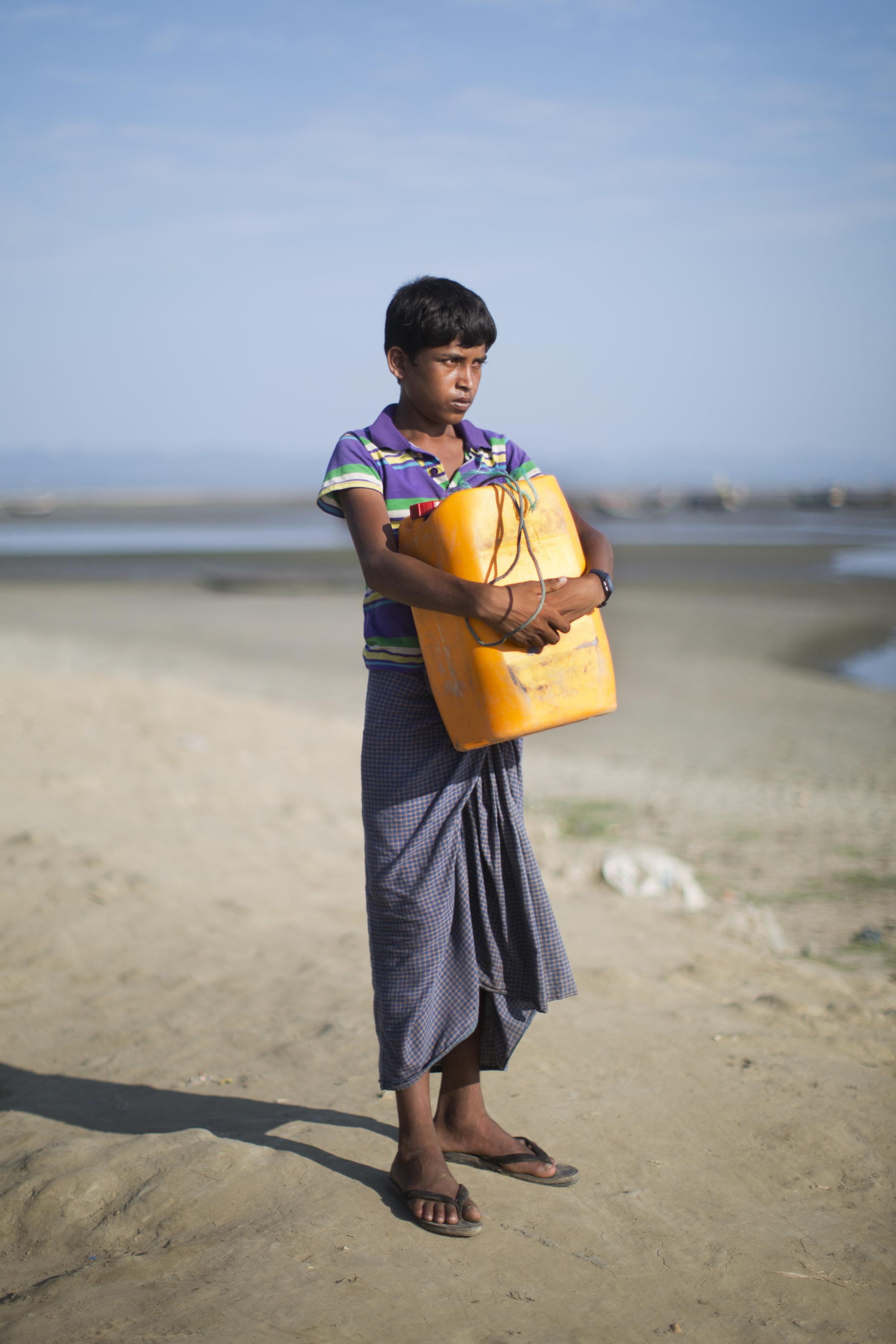 Nabi Hussain, 13. (AP Photo/Bernat Armangue)