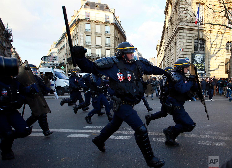 France Police Violence