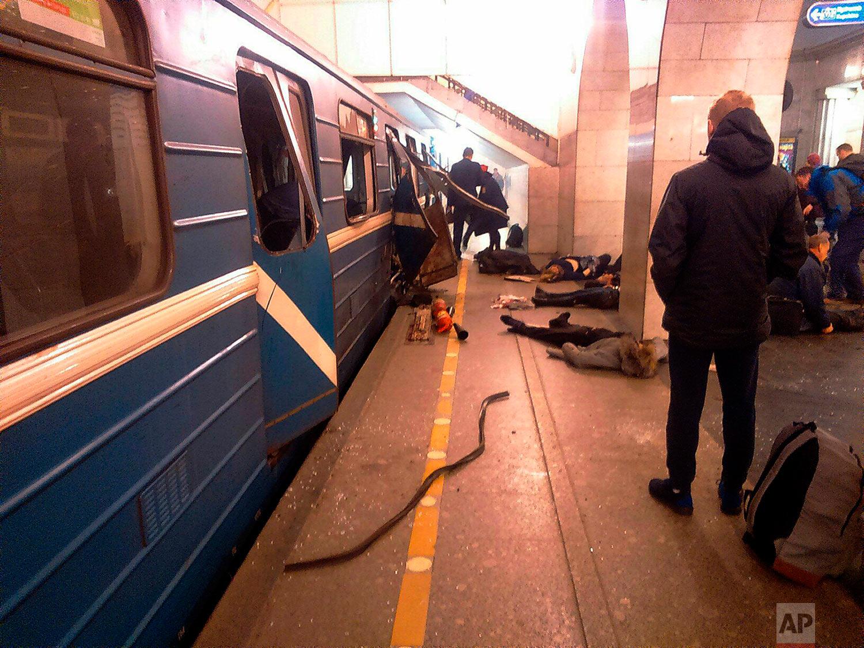Russia Subway Explosion