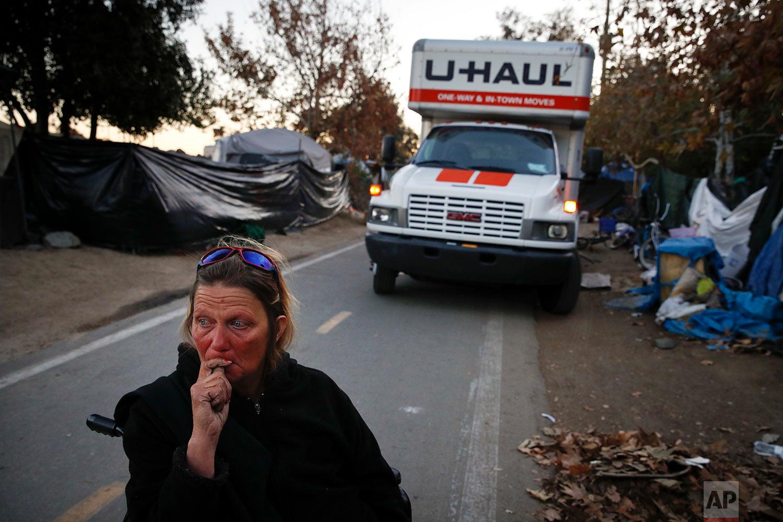 California Homeless Encapment