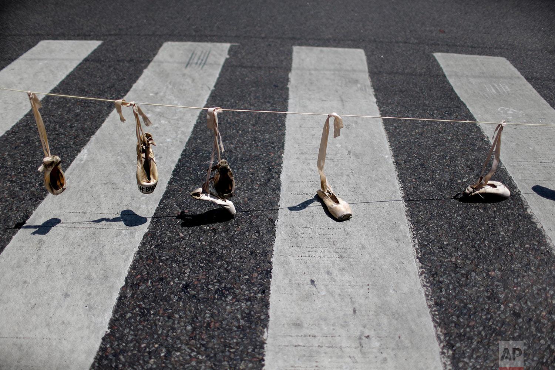 Argentina Ballet Protest
