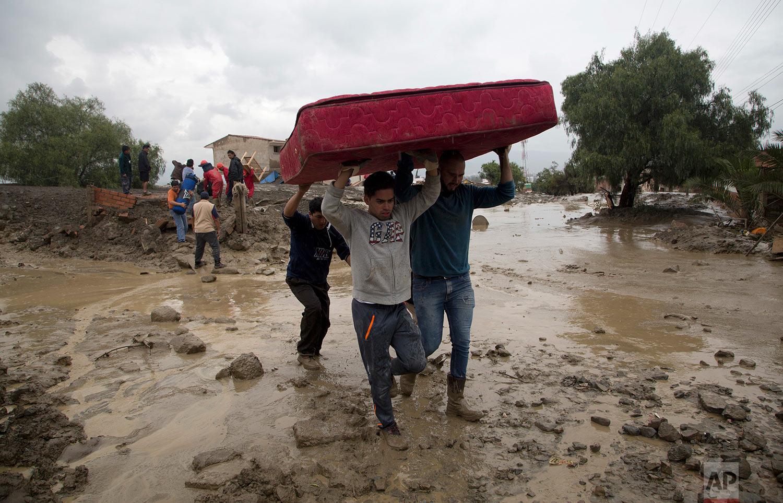 Bolivia Landslide