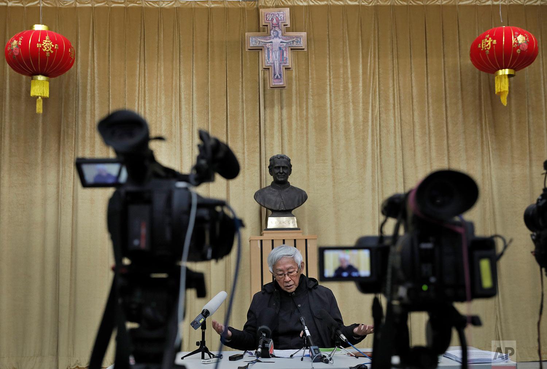 Hong Kong China Vatican