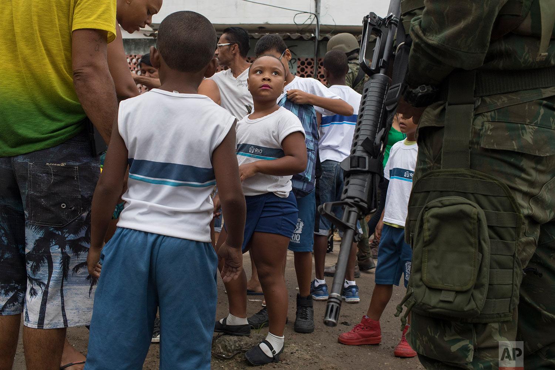 Brazil Rio Intervention