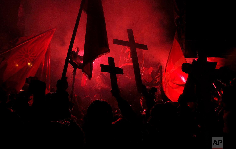 Macedonia Greece Protest