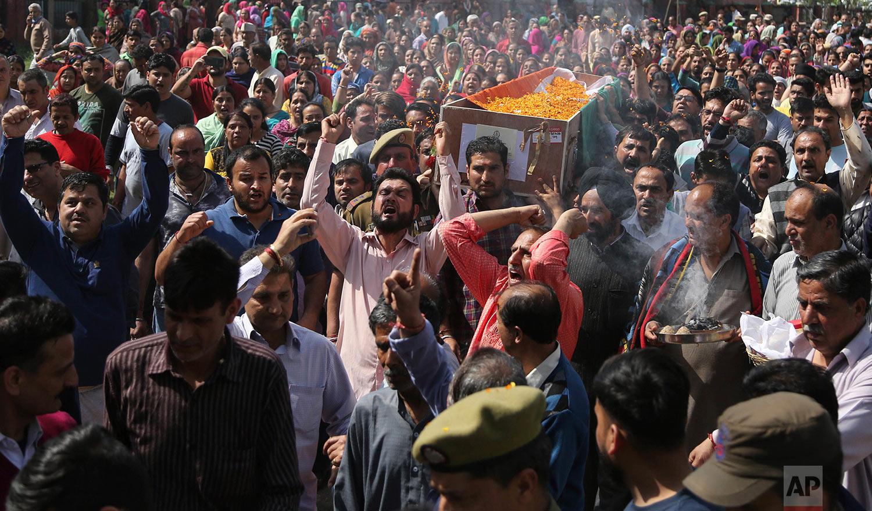 India Kashmir Fighting