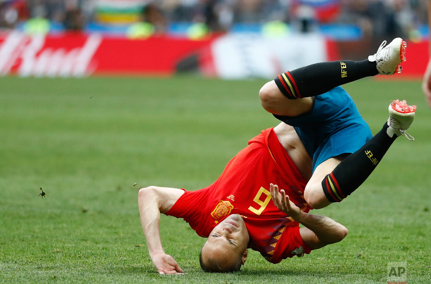 Russia Soccer WCup Match Moments Day 17 Photo Gallery